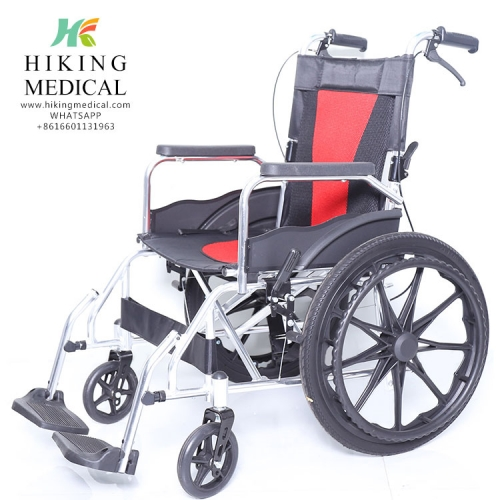 Multi-function manual Foldable wheelchair for hospital disabled