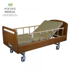 single cranks Multifunctional Medical Hospital Beds For Home Use